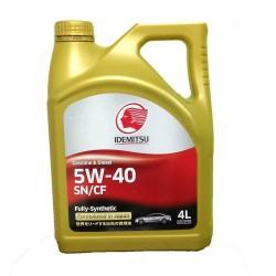 Масло IDEMITSU SN/CF 5W40 синт 4л